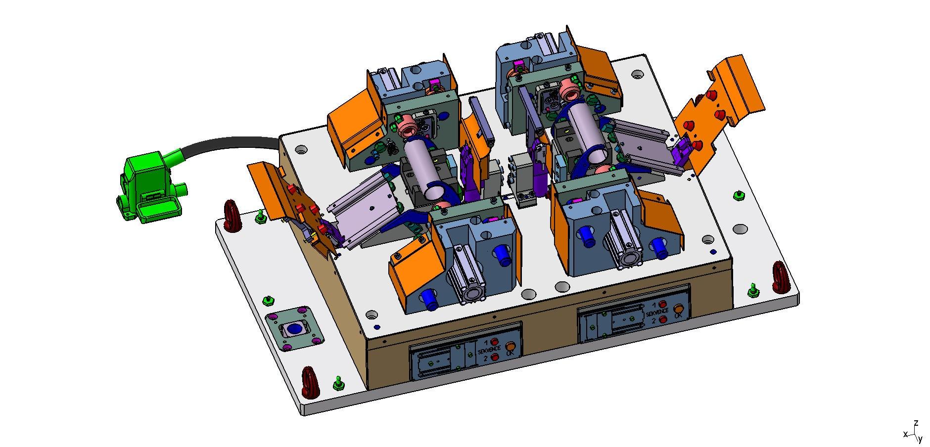 Konstrukce jednoúčelových strojů
