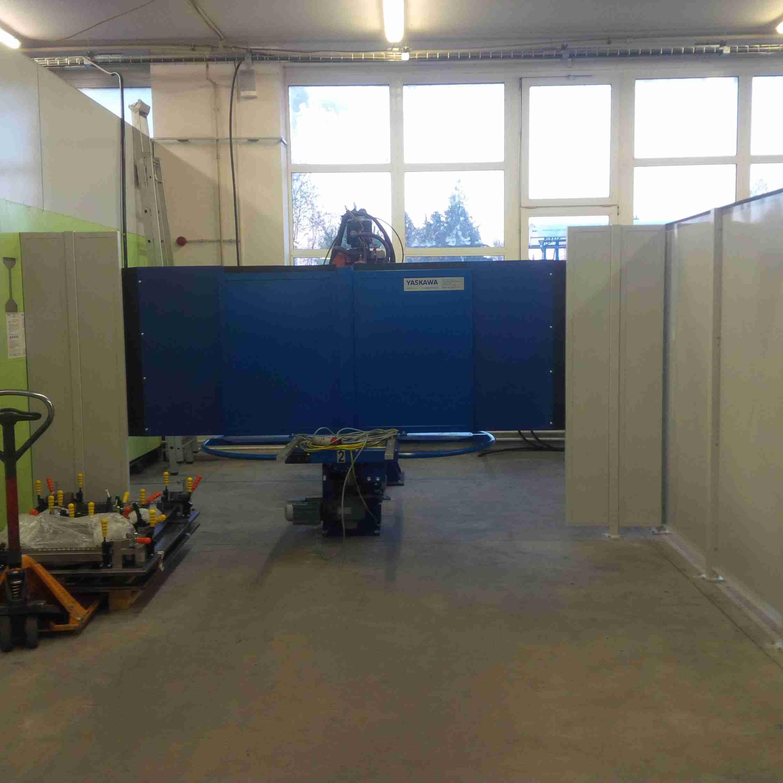 Svařovací pracoviště + robotový přípravek - Eaton - Suchdol nad Lužnicí