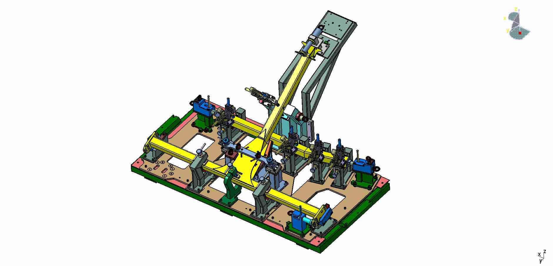 Robotový svařovací přípravek - KRONE - Kokinetics - Kamenice nad Lipou