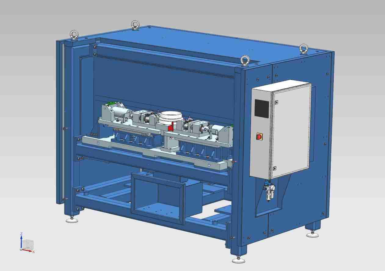 Automatický děrovací stroj Schaefer Sudex, Ledeč