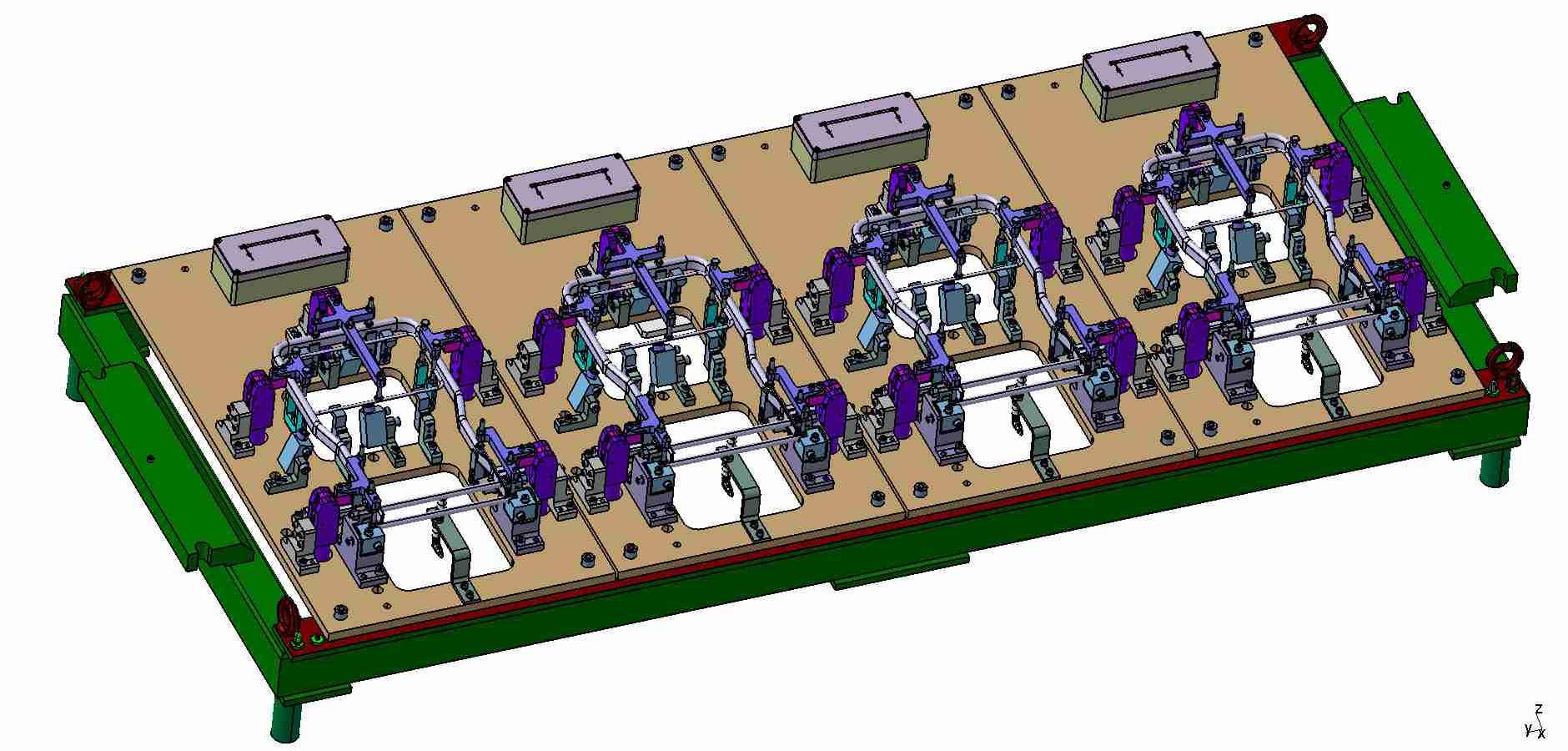 Pneumatický svařovací přípravek - automotive