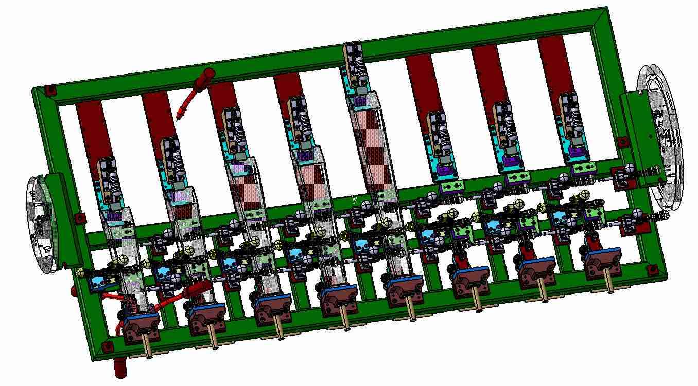 Robotový svařovací přípravek - nerezové nohy - Sudex - Ledeč
