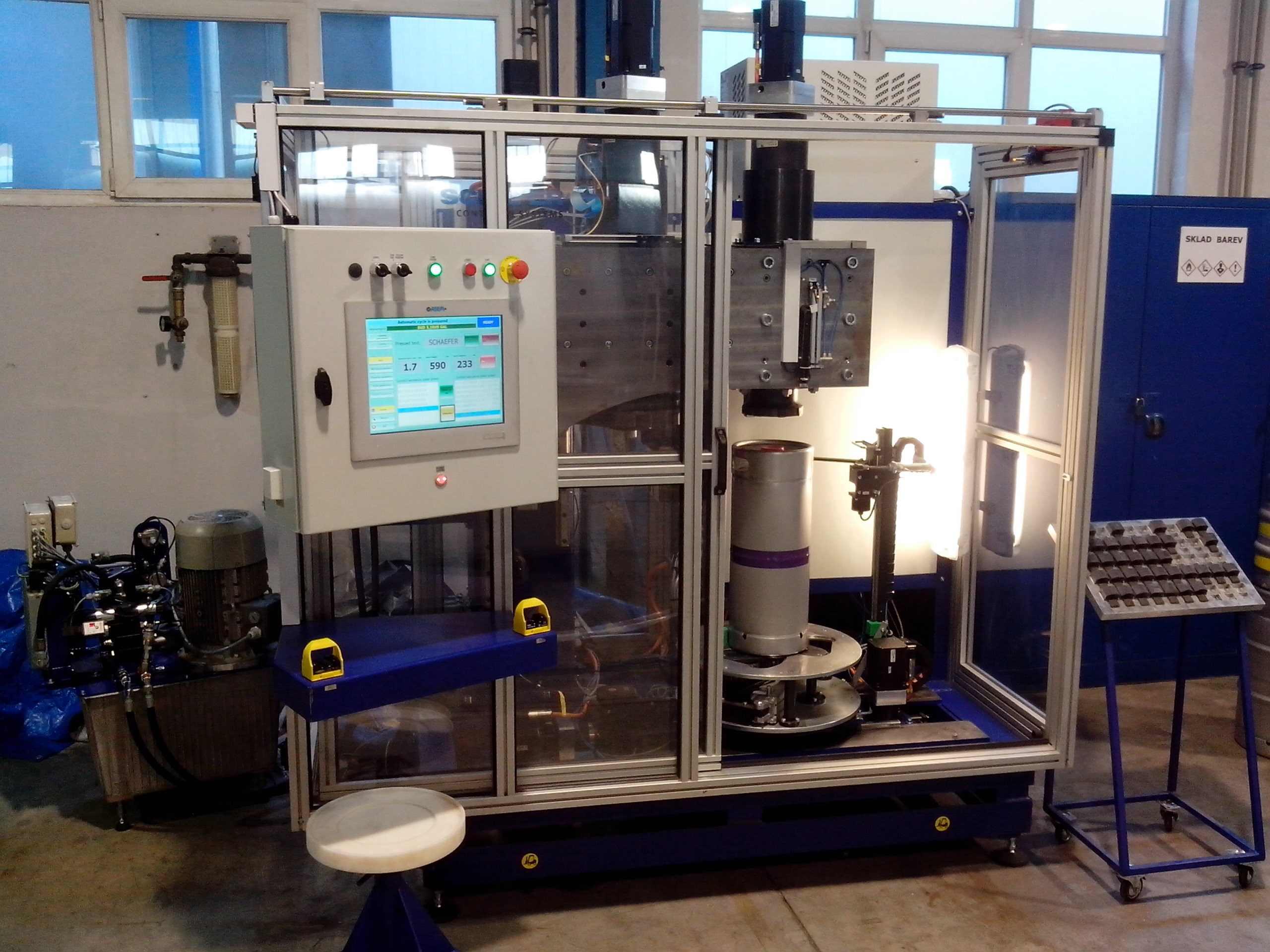 výroba jednoúčelových strojů